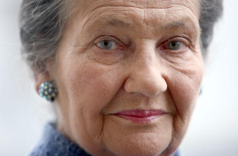 Simone Veil, archiefbeeld.  Beeld AFP