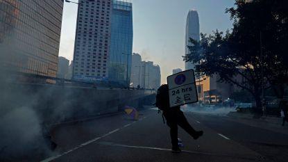 Balans van protesten in Hongkong gisteren: honderden gewonden en 180 arrestaties
