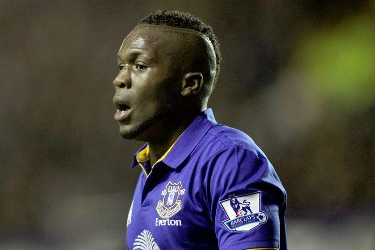 Royston Drenthe speelde in Engeland eerder voor Everton. Hij staat nu nog bij Reading onder contract. Beeld pro shots