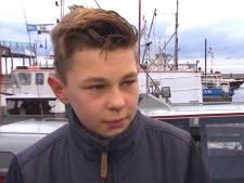 Auke (13) dobberde urenlang op het IJsselmeer, terwijl iedereen hem zocht