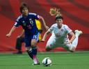 2015, Canada: Mana Iwabuchi namens Japan in duel met 'Leeuwin' Kirsten van de Ven.