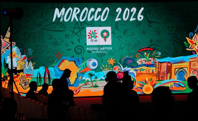 Het logo van Marokko voor het WK 2026