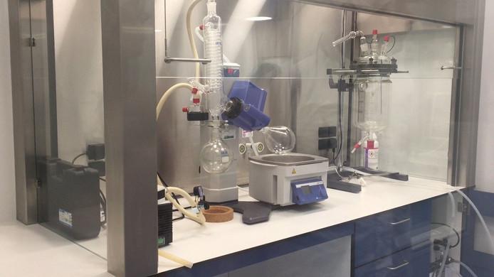 Het laboratorium in Laak