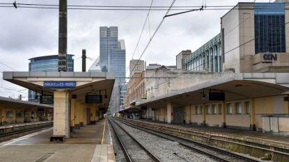 Treinverkeer weer op schema na brandje in Brusselse noord-zuidas