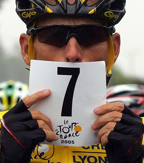 Armstrong zag zich zijn zeven Tourzeges afgepakt.