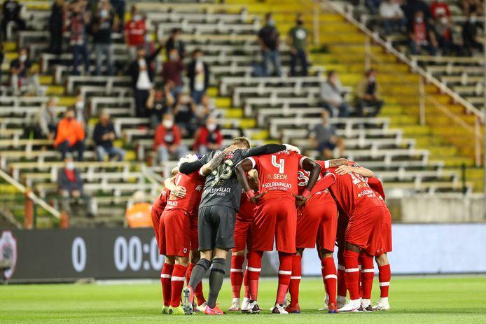 Spelers van Antwerp.