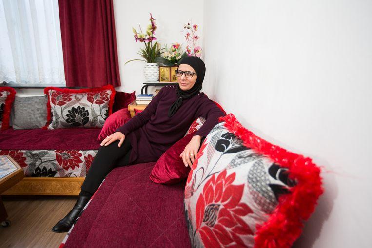 Rachma Ayad, de oma van kinderen van Syrië strijdster Amina Ghezzal