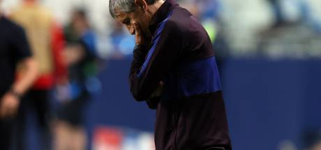 'Barcelona ontslaat trainer Setién en technisch directeur Abidal'