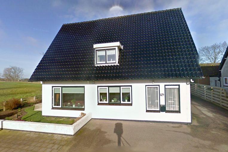 Een vrijstaande woning in het buurtschap Hollebalg, tussen Hippolytushoef en Westerland in Noord-Holland kost € 475.000 . Beeld Google Street View