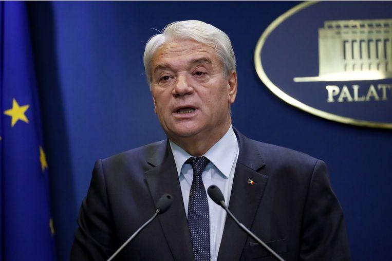 Nicolae Moga diende zijn ontslag in.