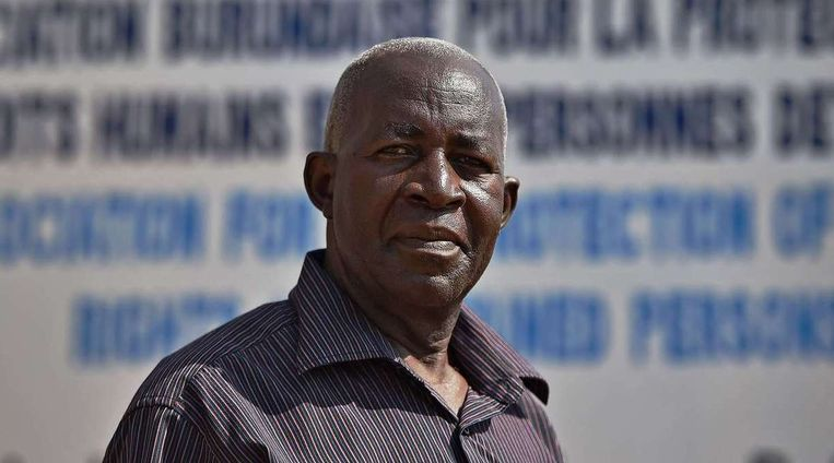 Pierre-Claver Mbonimpa Beeld afp