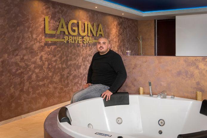 Privésauna Laguna in Veldhoven is dicht op last van de overheid en daar is eigenaar Tigran Muradjan het niet mee eens