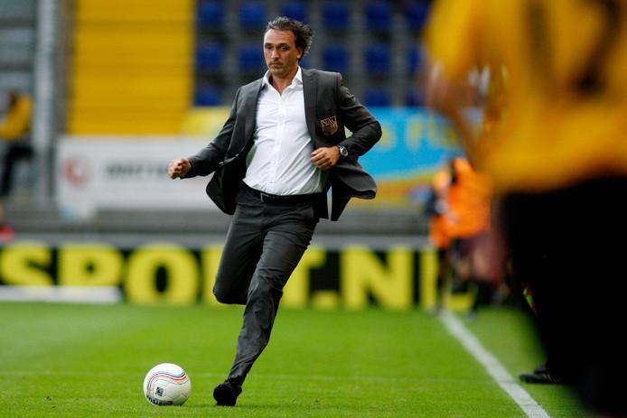Robbert Maaskant voorafgaand aan de duels met Villarreal.