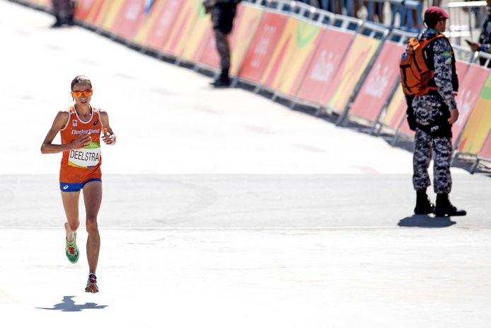 Andrea Deelstra haalde de spelen van Rio (2016), ze wil zich in Tokio plaatsen voor de volgende Olympische Spelen.