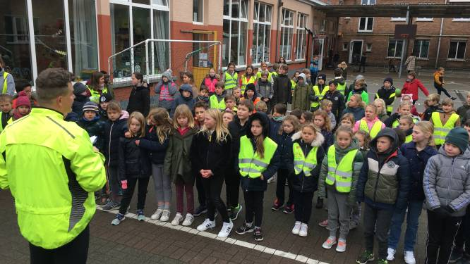 Leerlingen De Palster lopen wekelijks 'een blokje om'