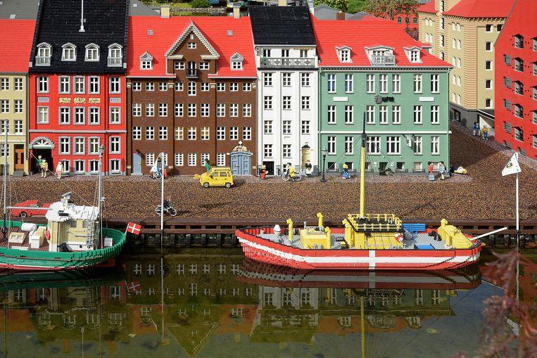 Copenhagen nagemaakt in Legoland. Beeld Didier Messens / Getty