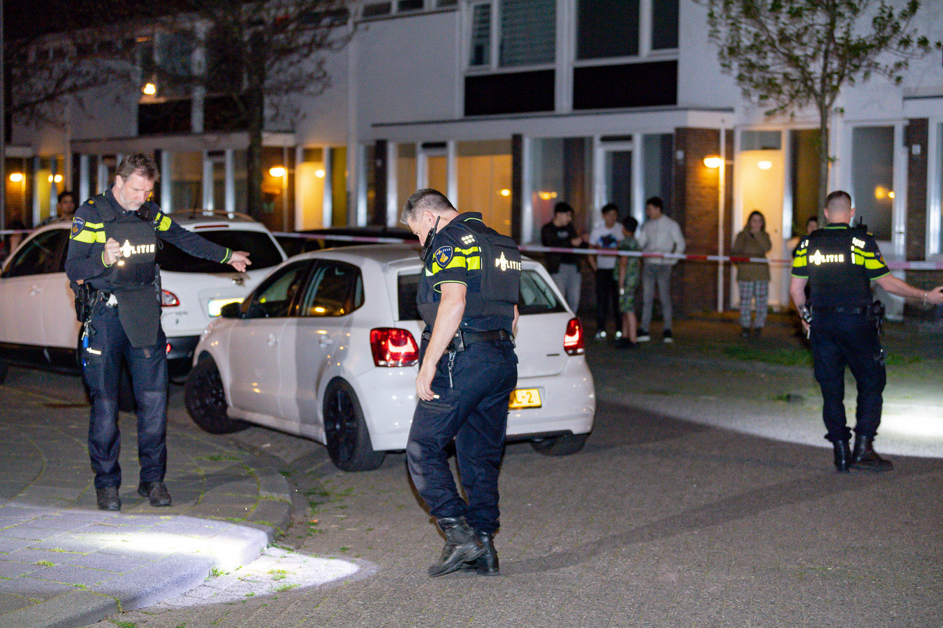 Schietincident in Bernard Loderstraat in Tilburg.