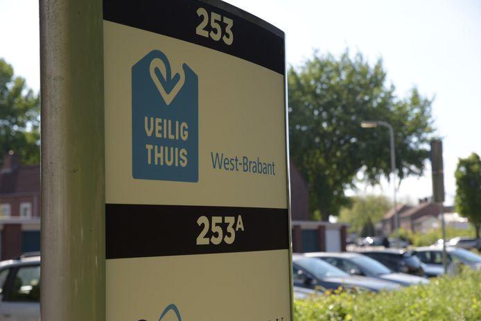 Het hoofdkantoor van Veilig Thuis West-Brabant in Breda.