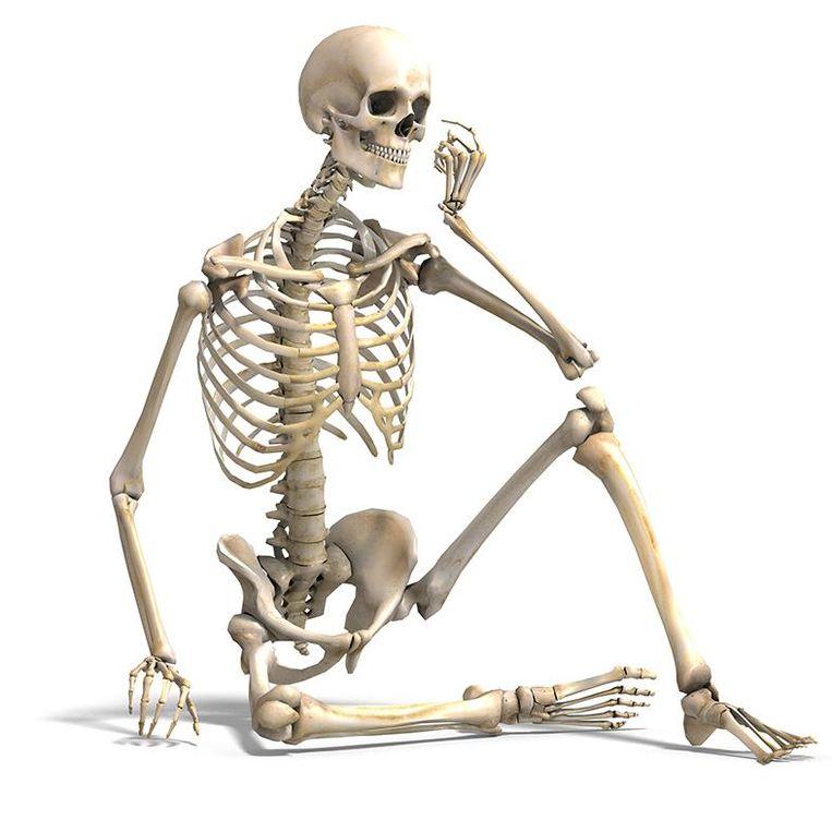 Voldoende calcium zou helpen botontkalking tegen te gaan Beeld -