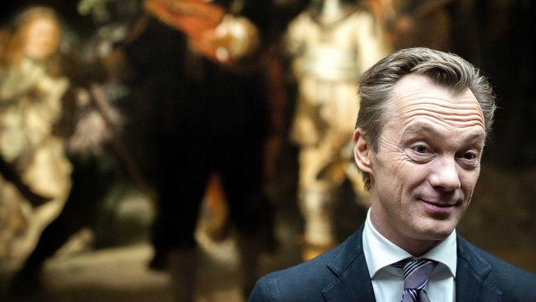 Wim Pijbes, directeur van het Rijksmuseum. Beeld null