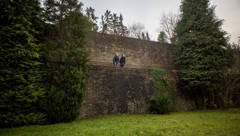 De Muur. Beeld Julius Schrank