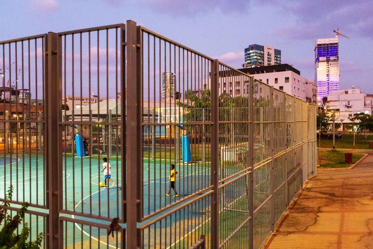 Neve Sha'anan, probleemwijk in Tel Aviv Beeld Geert van Kesteren