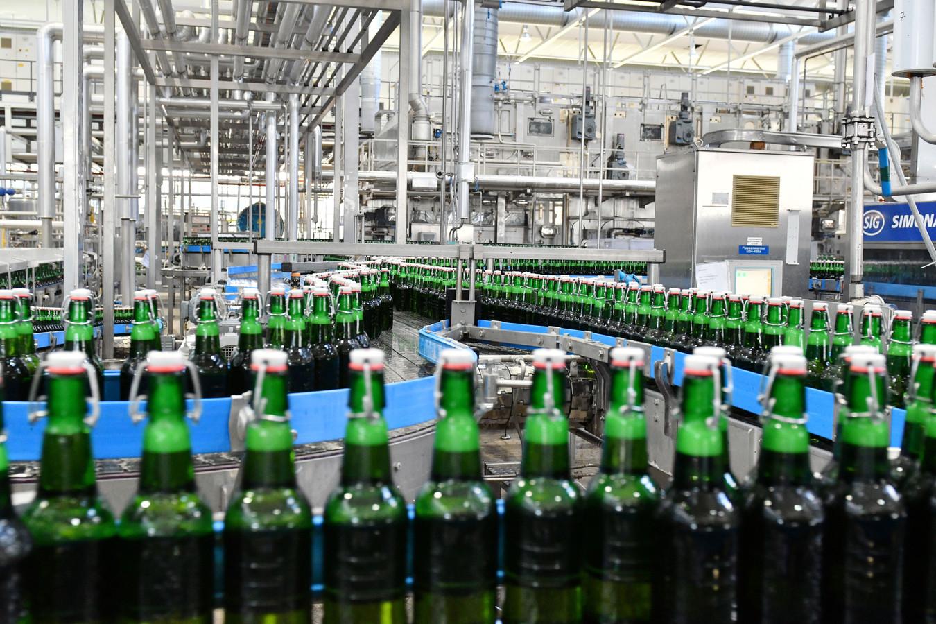 Grolsch bierbrouwerij.