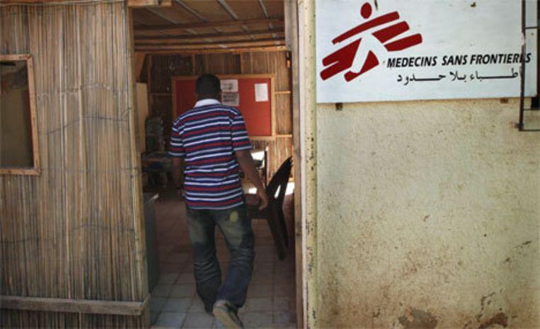 Kantoor van Artsen zonder Grenzen in Khartoum, Soedan. Foto AP Beeld