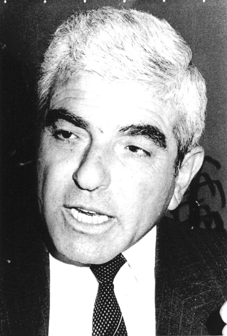 Issam Sarwati was een Palestijnse vredesonderhandelaar en werd op 10 april 1983 doodgeschoten in de lobby van een hotel. Beeld anp