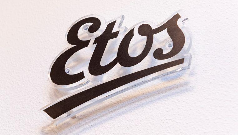 Het logo van winkelketen Etos. Beeld ANP