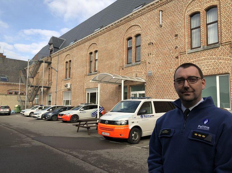 Sébastien Verbeke, korpschef van politiezone Druivenstreek, is op zoek naar tien extra agenten.