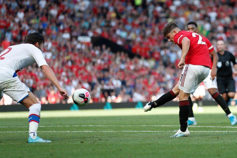 Daniel James leek met een knappe krul United in de slotfase (minstens) een punt te bezorgen.