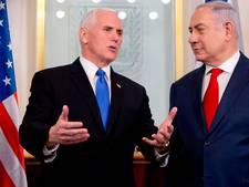 Pence vindt het een eer om in Israëls  hoofdstad Jeruzalem te zijn