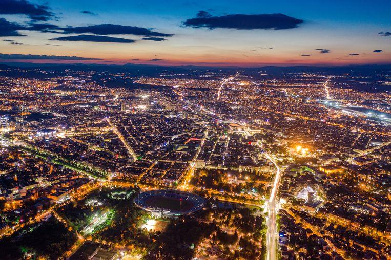 De hoofdstad Sofia, Bulgarije Beeld Getty Images