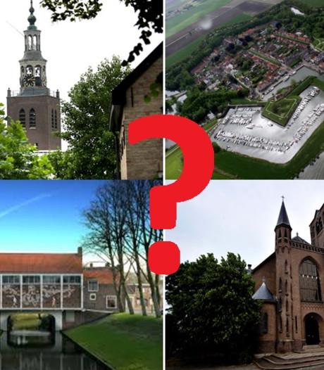 Ken jij de gemeente Moerdijk op je duimpje? Herken de plek (quiz)