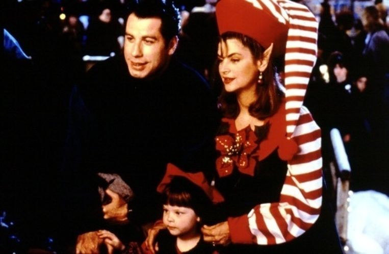 John Travolta en Kirstie Alley in Look Who's Talking in 1992.