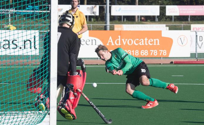 Upward wonnen hun vierde wedstrijd op rij. Archieffoto