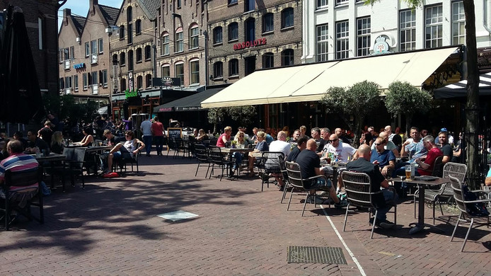 De Korenmarkt in Arnhem.
