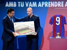 Barcelona opent Johan Cruijff-ruimte in museum