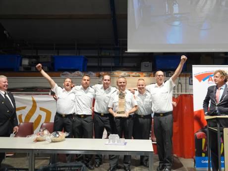 Nationale brandweertitel voor Zutphens team: 'Wij gaan letterlijk voor elkaar door het vuur'