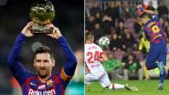 Droomavond in Camp Nou: Messi krijgt Gouden Bal van zoontjes en maakt hattrick, Suarez scoort met fabuleuze hakbal