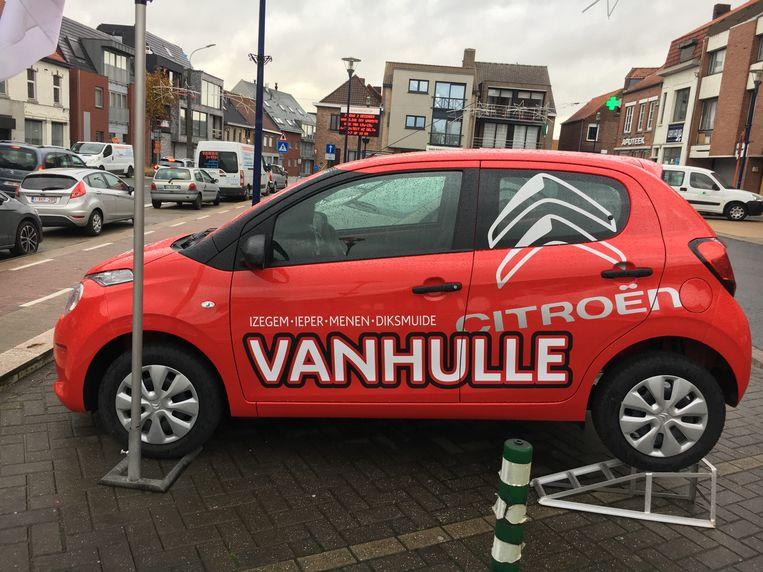 Een gelukkige klant wint op 8 januari deze hoofdprijs, een Citroën C1.