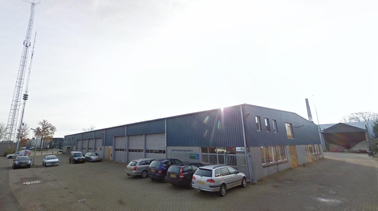 De gemeentewerf in Dalfsen.