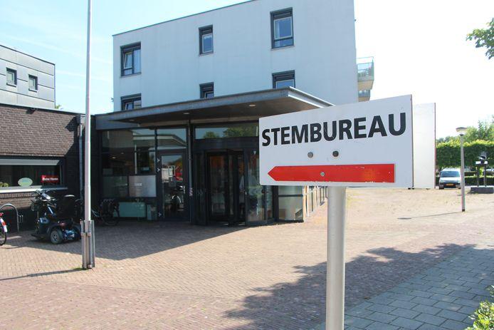 Stembureau bij Fysio Eibergen