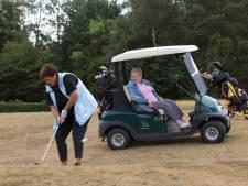 Jopie Cloo (89) wilde nog één keer het gras van de golfbaan ruiken