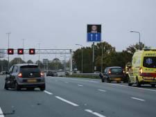 A12 bij Veenendaal afgesloten na ongeval