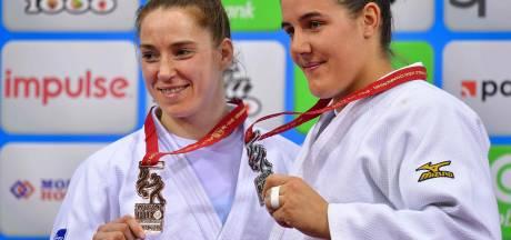 Guusje Steenhuis pakt het zilver op WK judo