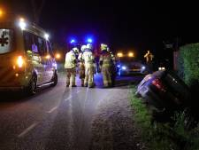 Auto belandt in sloot in Ederveen