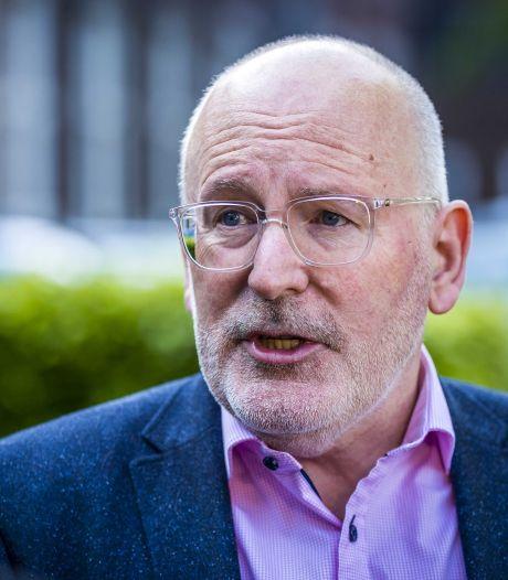 Timmermans nieuwe klimaatchef Europese Commissie