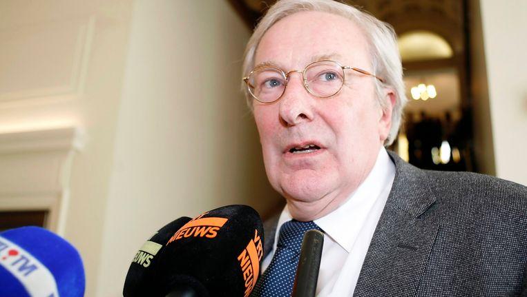 Voormalig justitieminister Tony Van Parys.